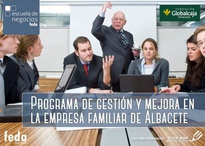 Programa de gestión y mejora en la empresa familiar de Albacete - Consultoría Estratégica